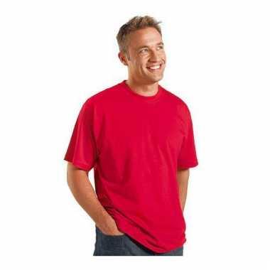 Maat 4xl heren t-shirts rood