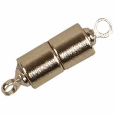 Magneet slotjes zilver 2x