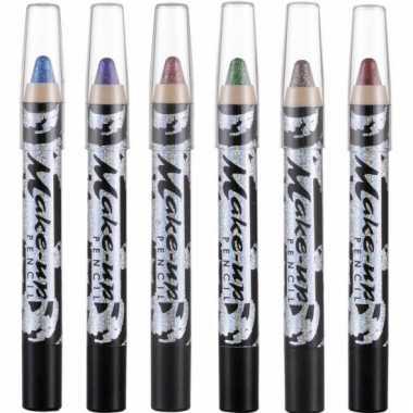 Make-up glitter potlood gekleurd