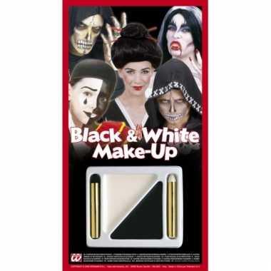 Make up setje zwart en wit