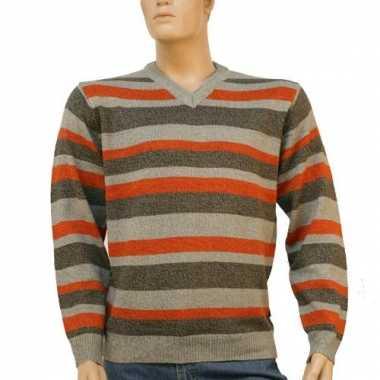 Mannen pullover stripes
