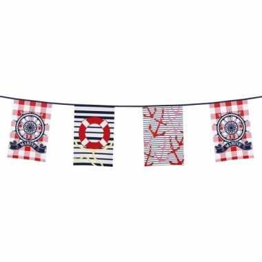 Maritieme vlaggetjes rechthoekige vlaggetjes
