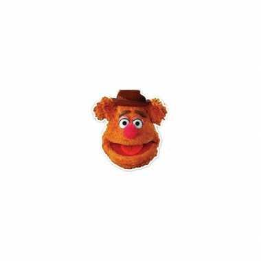 Maskertje met fozzy afbeelding