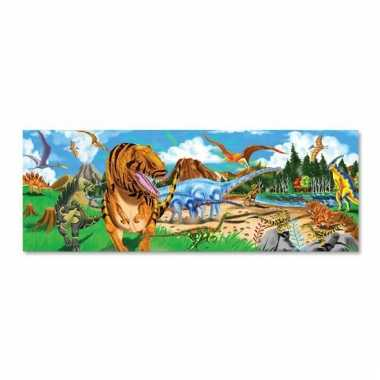 Mega puzzel dinosaurussen 48 stukjes