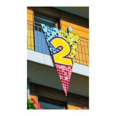 Mega vlag verjaardag 2 jaar