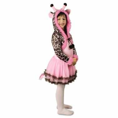 Meisjes giraffe kostuum
