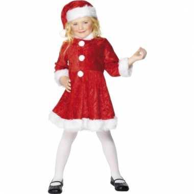 Meisjes kerstjurkje