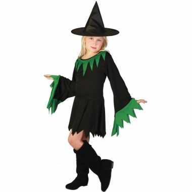 Meisjes verkleedkleding heksenjurk