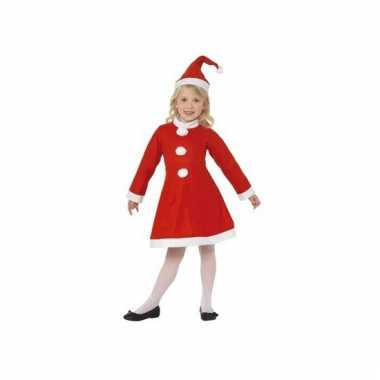 Meisjesjurk voor kerst 3 tot 5 jaar