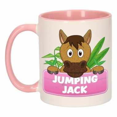 Melk mok / beker jumping jack 300 ml