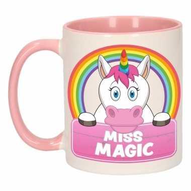 Melk mok / beker miss magic 300 ml