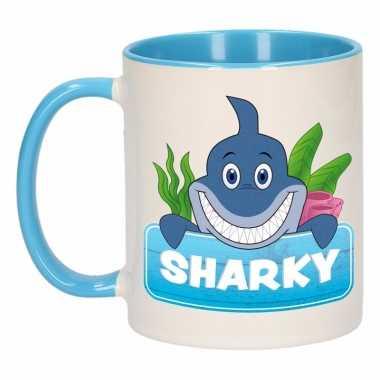 Melk mok / beker sharky 300 ml