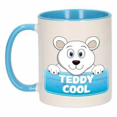 Melk mok / beker teddy cool 300 ml
