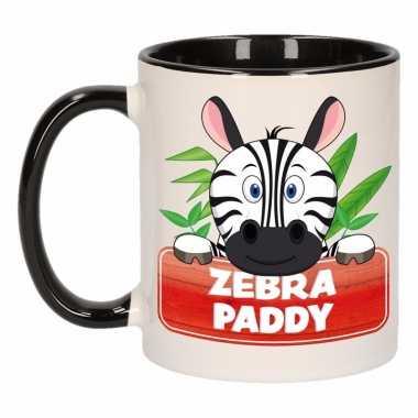 Melk mok / beker zebra paddy 300 ml