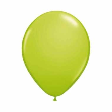 Metallic lime ballon 30 cm