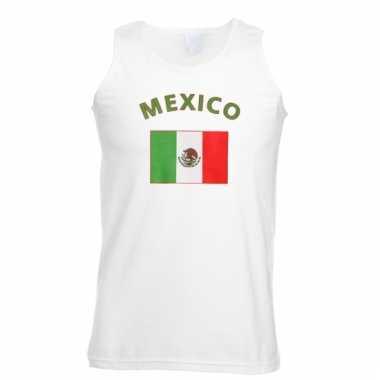 Mexicaanse vlaggen tanktop/ t-shirt
