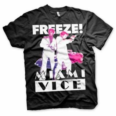 Miami vice freeze kleding heren shirt