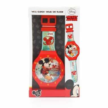 Mickey mouse horloge wandklok 47 cm