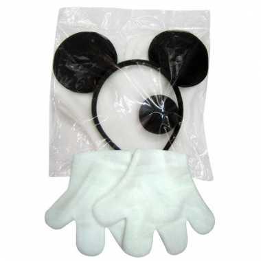 Mickey verkleedset voor volwassenen