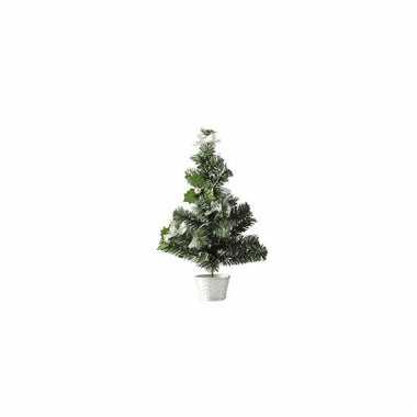 Mini kerst decoratie boompje 36 cm