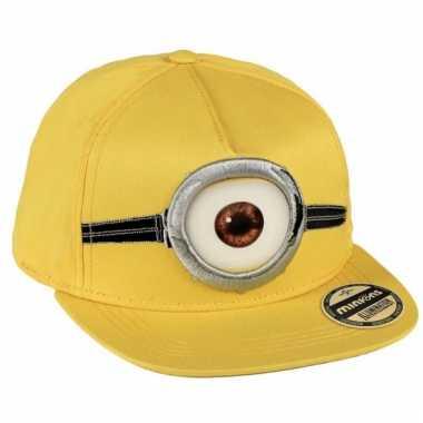 Minions 3d baseball cap voor kids