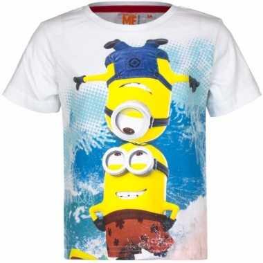 Minions kinder t-shirts wit