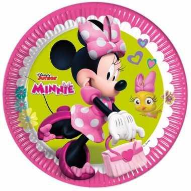 Minnie mouse bordjes 8 stuks