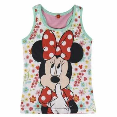 Minnie mouse mouwloze shirts voor meiden