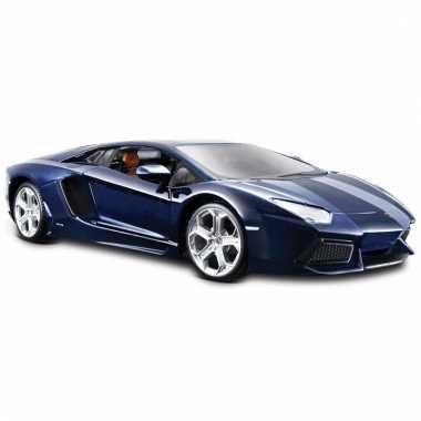 Model auto lamborghini aventador 1:24