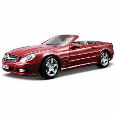 Model auto mercedes sl 550 cabriolet 1:18