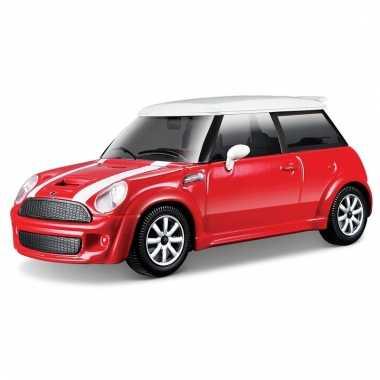 Model auto mini cooper s 1:43