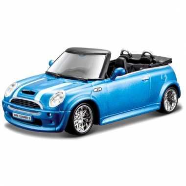 Model auto mini cooper s cabriolet 1:32