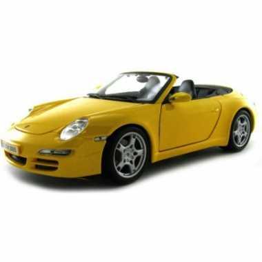 Model auto porsche 911 carrera s cabrio