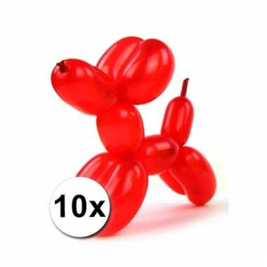 Modelleerballon zak met 10 stuks