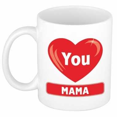 Moederdag cadeau mok voor mama 300 ml
