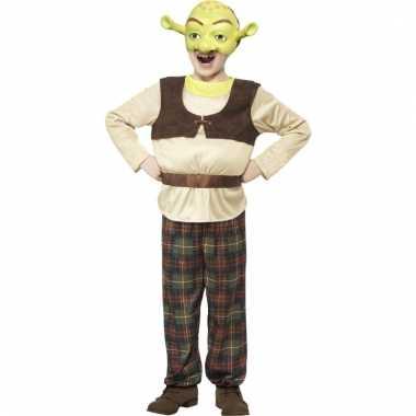 Moeras monster verkleedkostuum voor jongens