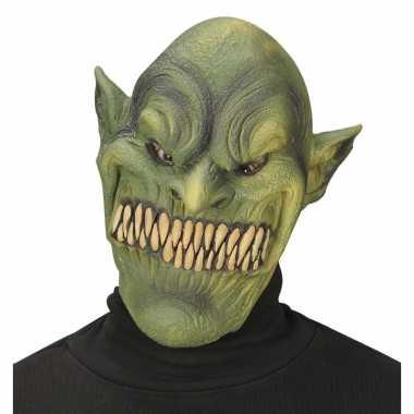 Monster masker groen