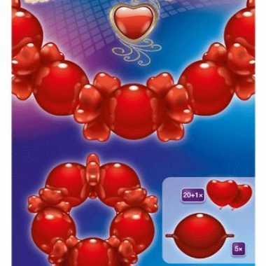 Mooi ballonnen guirlande liefde