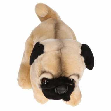 Mopshonden knuffels 23 cm