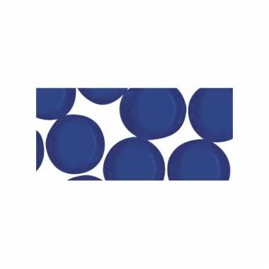 Mozaiek stenen blauw rond