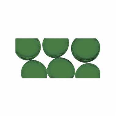 Mozaiek stenen groen rond