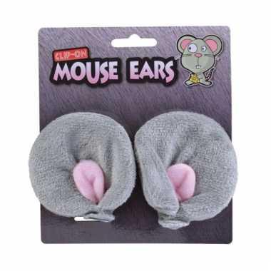 Muizen clips nep oren