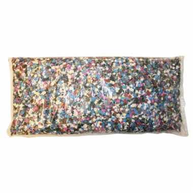 Multicolor confetti zak 1 kilo