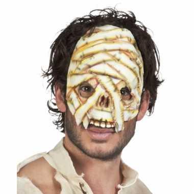 Mummie gezichtsmasker latex
