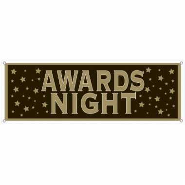 Muurdecoratie awards night
