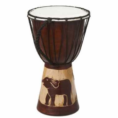 Muziekinstrument houten drum