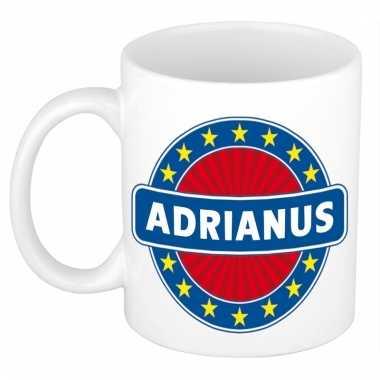 Naamartikelen adrianus mok / beker keramiek 300 ml
