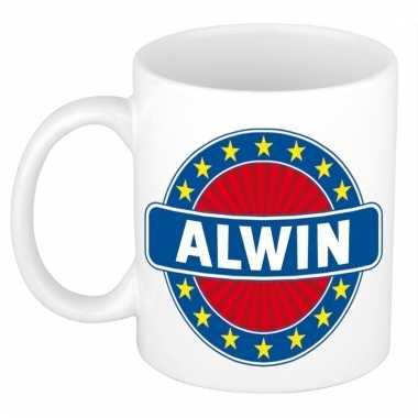 Naamartikelen alwin mok / beker keramiek 300 ml