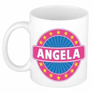 Naamartikelen angela mok / beker keramiek 300 ml