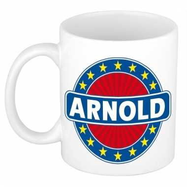 Naamartikelen arnold mok / beker keramiek 300 ml